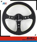 Factory made Vertex 320mm leather steering wheels