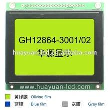 dot lcd, dot matrix LCD display module, 128x64 dots COG Graphic LCD Module