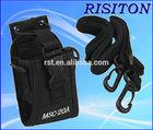 portable walkie talkie leather case msc-20a two way radio case for UV-5R walkie talkie nylon case
