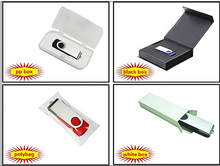 different kinds of USB flash drive packaging for rectangle usb stick