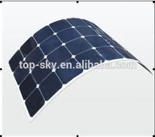 100W flexible solar panel 2014 latest Flexible solar panels sunpower mono solar panel