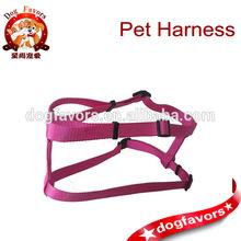 2014 new fashion reflective nylon dog harness, pet harness