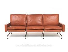 PK31 leather sofa