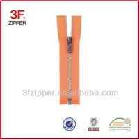 Open end Nickel Brass Zipper