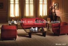 203# Foshan Gelaimei 1+1+3 New Model Sofa Sets