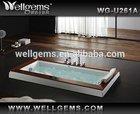 Teak sitting small shallow Bathtub U261A