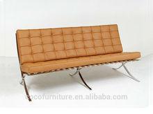 Barcelona chair and Barcelona sofa