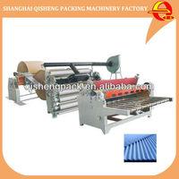 2 layer/single facer paper carton box corrugated cardboard making machine