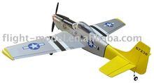 Nitro plane P-51 mustang-46 F007 r/c airplane model