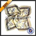 imprimé foulard en soie de mode pour les dames