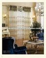 organza bordada cortinas