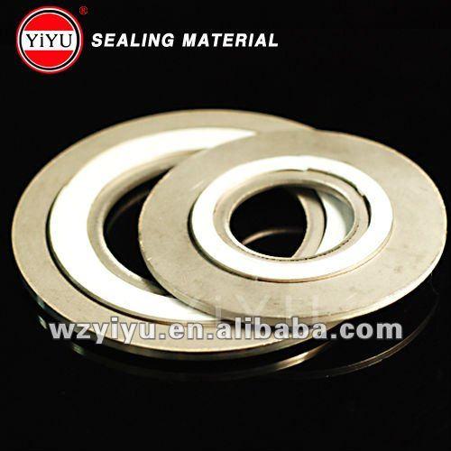 stainless steel PTFE graphite Spiral Wound Gasket
