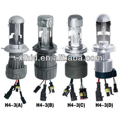 2013 HOT SALE H4-3/H4 hi/lo HID XENON LAMP used on electric car conversion kit