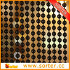 Sorter metal ball chain curtains for room divider screen