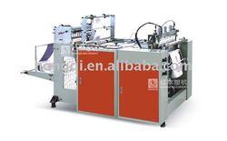 High speed Hot sealing Hot cutting Bag making Machine