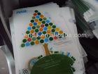 A4/A5 L shape clear PP plastic file folder