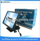 "DTK-1568R Factory Supply USB Touch Controller 15"" Touch Screen Monitor"