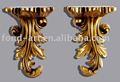 Antiguo de oro decoración de hogar, la decoración de interiores, decoración de la pared