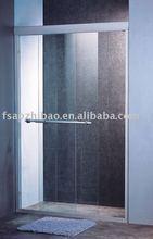 sliding shower panel