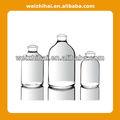 Molde claro inyección botellas goma vidrio