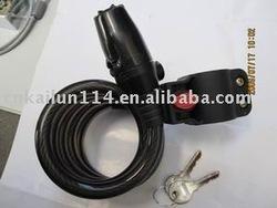 bike alarm cable lock