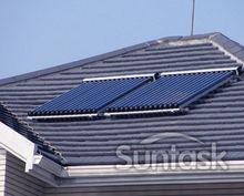 Suntask most popular SCM20 heat pipe Evacuated vacuum tube solar collector
