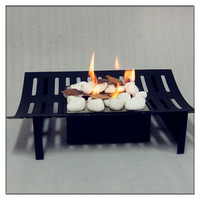 Free Standing Steel Outdoor Bio Ethanol Fire Pits