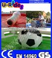 Touro de rodeio com diferentes tipos de fixação, esportes infláveis jogo equipamentos