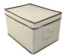 good quality custom printed foldable non woven storage Box and Bin