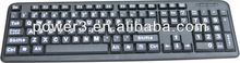 wireless mechanical keyboard for panasonic viera smart tv with only usd 1.73