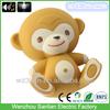 Hot sell plastic cute 3D design fashion promotion mini monkey key chain
