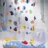 PEVA shower curtain valance