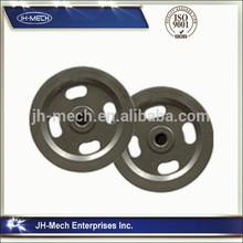 hand wheel carbon steel/iron/metal precise casting supplier