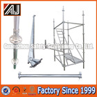 Real Factory In Guangzhou Steel Galvanized Ringlock Scaffolding For Sale(Layher Ringlock Scaffolding)