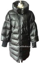 lamb leather winter coat for women