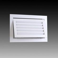 aluminum hinged return air grille with filter