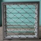 Pvc glass shutter windows with protective grids