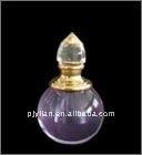 globe hand blown decorative perfume bottle