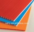 Coroplast, cartonplast, tablero de cartón corrugado