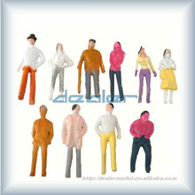 ABS Figure,scale model train figures