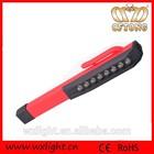 Convenient 8 led magnetic light pen