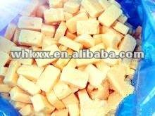Frozen mashed garlic