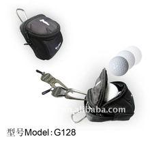 G128 convenient small golf ball bag \colth small golf ball bag\ hot sell golf pouch