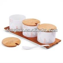 ceramic jar coffee sugar canister