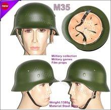 german WW2 steel m35 helmet