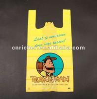 lovely reusable eco friendly promotional T-shirt shopping/carrier bag for children gift/supermarket/grocery