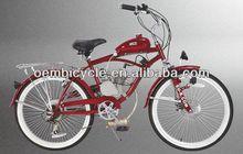 26 inch 50cc 2-stroke hot sale red gas engine motor bike
