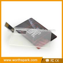 transparent case card USB flash drive