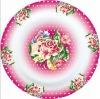Logo dinnerware restaurant plates