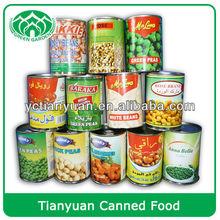 new crop 400g/tin mixed vegetables